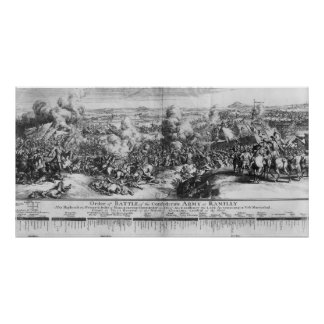 The Battle of Ramillies, 23rd May 1706 Posters