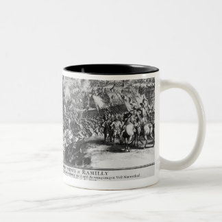 The Battle of Ramillies, 23rd May 1706 Two-Tone Coffee Mug