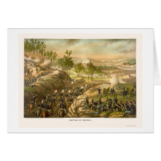 The Battle of Resaca by Kurz and Allison 1864 Card