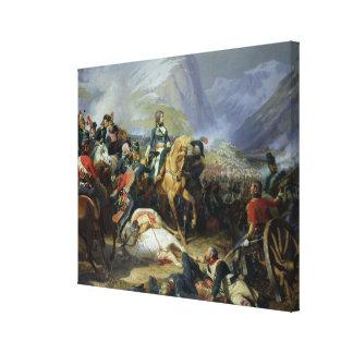 The Battle of Rivoli, 1844 Canvas Print