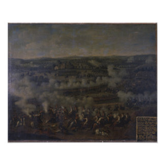 The Battle of Rossbach, 1757 Poster