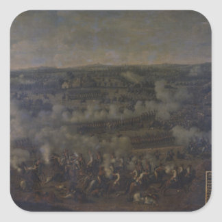 The Battle of Rossbach, 1757 Square Sticker