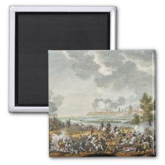 The Battle of S. Giorgio di Mantova, 29 Fructidor, 2 Inch Square Magnet