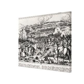 The Battle of Sadowa, 3rd July 1866 Canvas Print