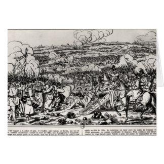 The Battle of Sadowa, 3rd July 1866 Card