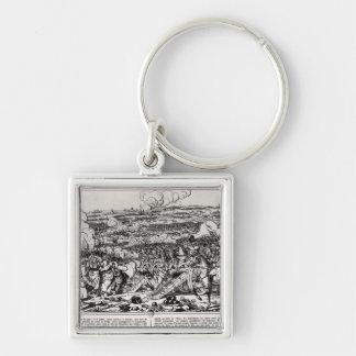 The Battle of Sadowa, 3rd July 1866 Keychain