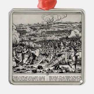 The Battle of Sadowa, 3rd July 1866 Metal Ornament