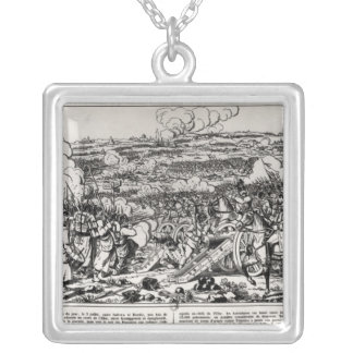 The Battle of Sadowa, 3rd July 1866 Silver Plated Necklace
