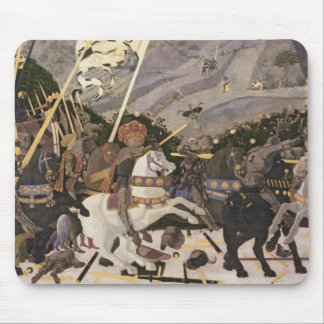 The Battle of San Romano, c.1438-40 Mouse Pad