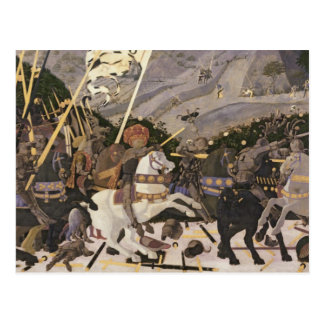 The Battle of San Romano, c.1438-40 Postcard