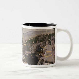 The Battle of San Romano, c.1438-40 Two-Tone Coffee Mug