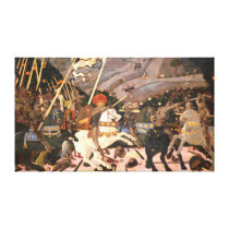 The Battle of San Romano Canvas Print
