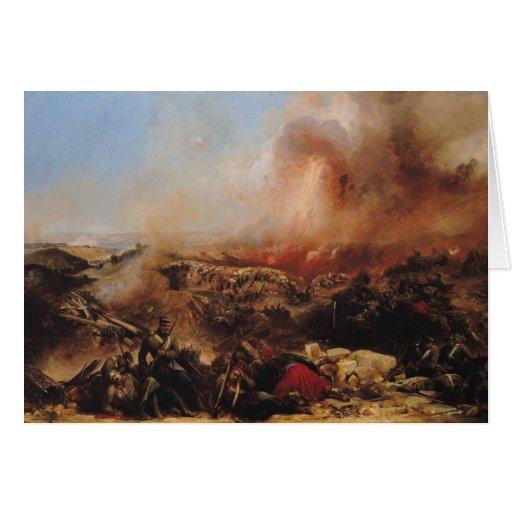 The Battle of Sebastopol Card