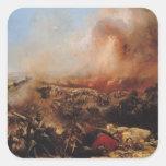 The Battle of Sebastopol Square Sticker
