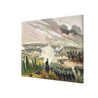 The Battle of Sedan, 1st September 1870 Canvas Print