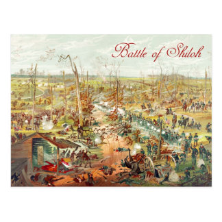 The Battle of Shiloh Postcard