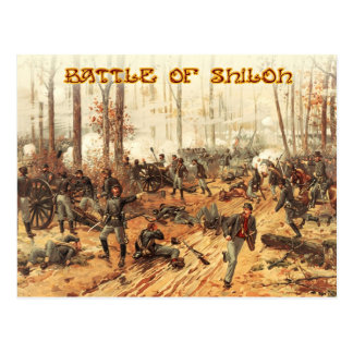 The Battle of Shiloh Postcard