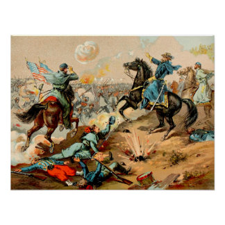 The Battle of Shiloh Print