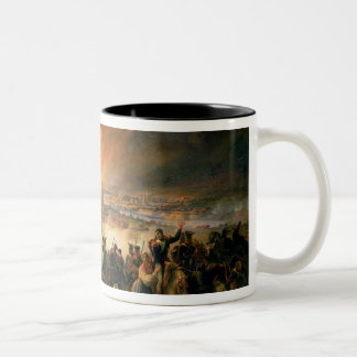 The Battle of Smolensk, 17th August 1812, 1839 Two-Tone Coffee Mug