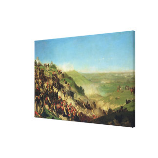 The Battle of Solferino, 24th June 1859 Canvas Print