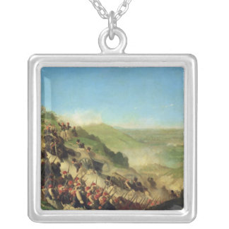 The Battle of Solferino, 24th June 1859 Silver Plated Necklace