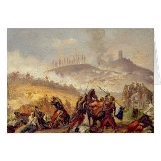 The Battle of Solferino Card