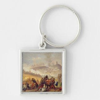 The Battle of Solferino Keychain