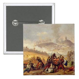 The Battle of Solferino Pinback Button