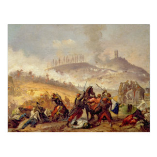 The Battle of Solferino Postcard