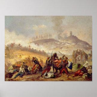 The Battle of Solferino Poster