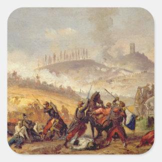 The Battle of Solferino Square Sticker