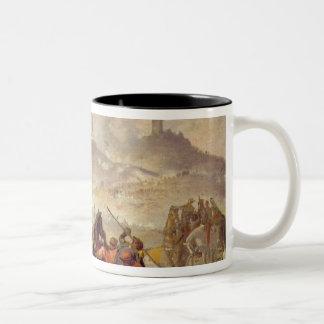 The Battle of Solferino Two-Tone Coffee Mug