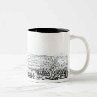 The Battle of Talavera de la Reina Two-Tone Coffee Mug