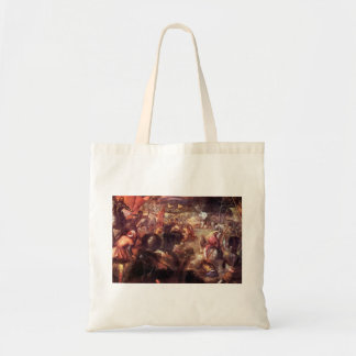 The Battle of Taro by Tintoretto Budget Tote Bag