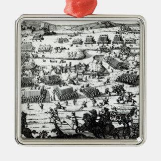 The Battle of the Boyne, c.1690 Metal Ornament