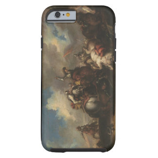 The Battle of the Cavaliers (oil on canvas) Tough iPhone 6 Case