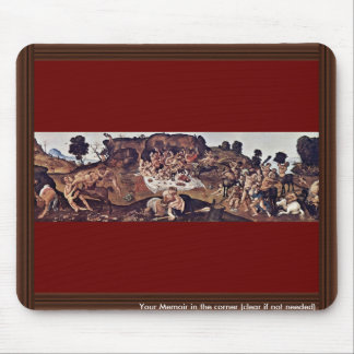 The Battle Of The Centaurs And Lapiths By Piero Mouse Pad