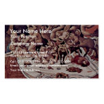 The Battle Of The Centaurs And Lapiths Detail Double-Sided Standard Business Cards (Pack Of 100)
