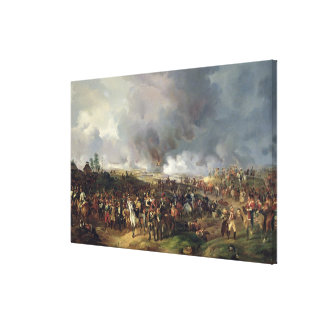 The Battle of the Nations of Leipzig, 1813 Canvas Print