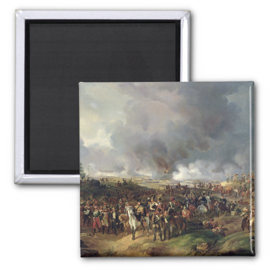 The Battle of the Nations of Leipzig, 1813 Magnet