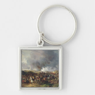 The Battle of the Nations of Leipzig, 1813 Silver-Colored Square Keychain