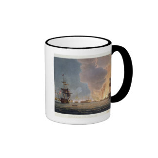 The Battle of the Nile, 1st August 1798, engraved Mugs