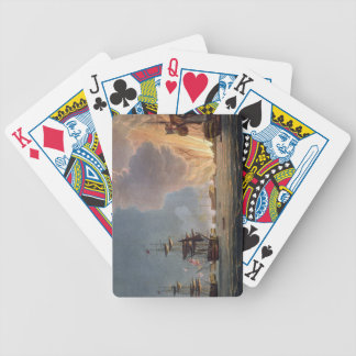 The Battle of the Nile, 1st August 1798, engraved Card Deck