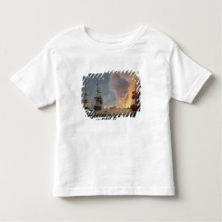 The Battle of the Nile, 1st August 1798, engraved Toddler T-shirt