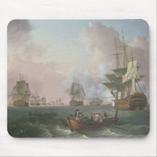 The Battle of the Nile Mouse Pad