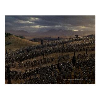 The Battle of the Pelennor Fields Postcard
