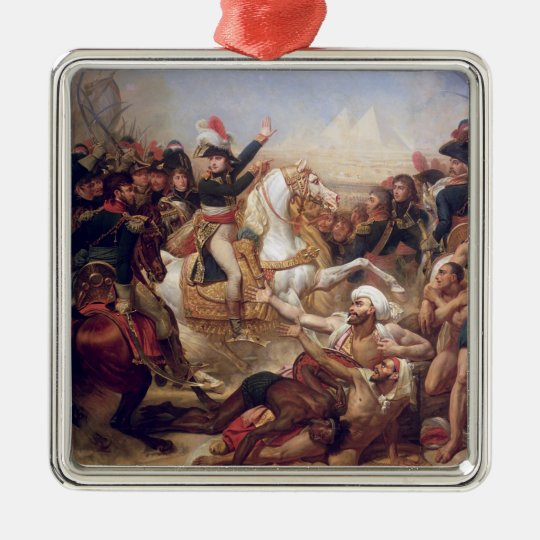 The Battle of the Pyramids, 21st July 1798 Metal Ornament