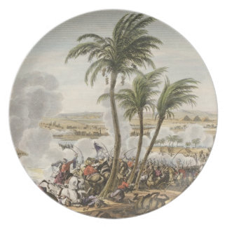 The Battle of the Pyramids, 3 Thermidor, Year 6 (2 Dinner Plate
