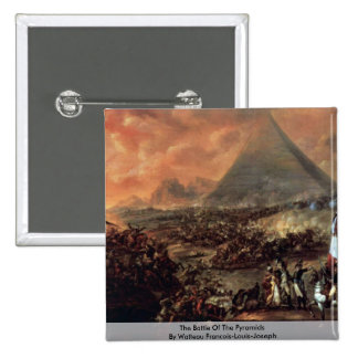 The Battle Of The Pyramids 2 Inch Square Button