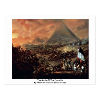 The Battle Of The Pyramids Postcard